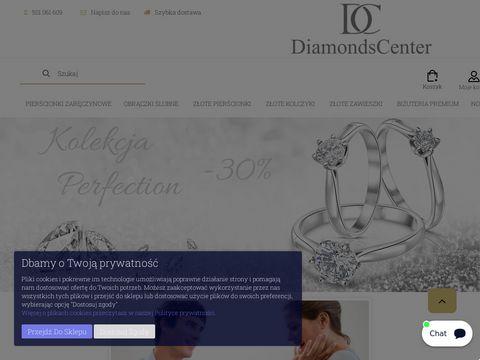 Diamondscenter.pl - złote pierścionki