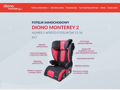 Diono-monterey.pl