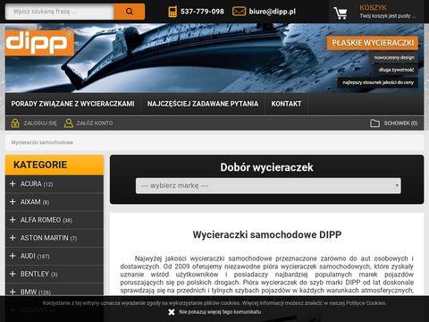 Dipp.pl pióra wycieraczek