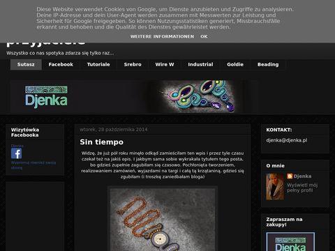 Djenkowo.blogspot.com podróż po świecie biżuterii sutasz