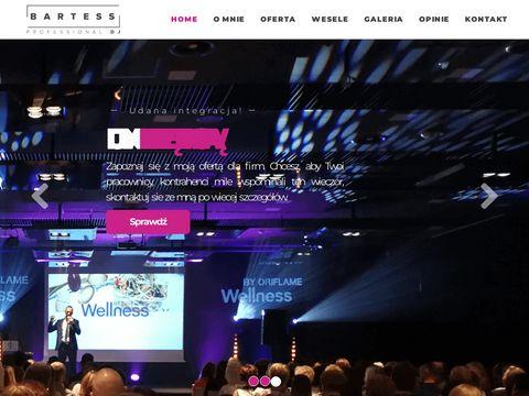 Djbartess.pl wodzirej na wesele Wrocław