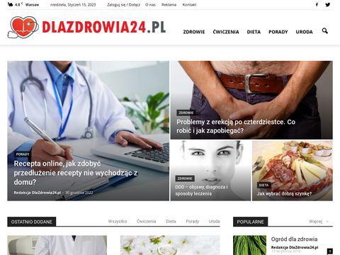 Dlazdrowia24.pl - kosmetyki apteczne