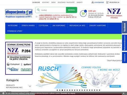 Dlapacjenta.pl - sklep medyczny i zielarski