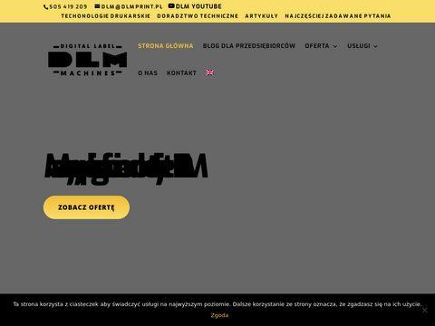 Dmprint.pl maszyny drukarskie DLM
