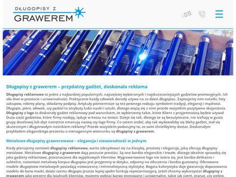 Dlugopisyzgrawerem.com.pl reklamowe