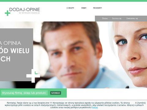 Dodaj-opinie.pl - opinie o produktach