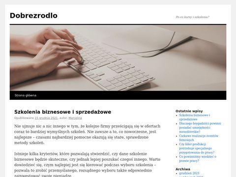 Dobrezrodlo.wroclaw.pl sklep zielarski