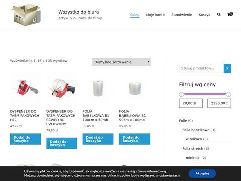 Dobiura.net artykuły biurowe, materiały
