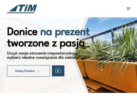 Donice-tim.pl do ogrodu na wymiar