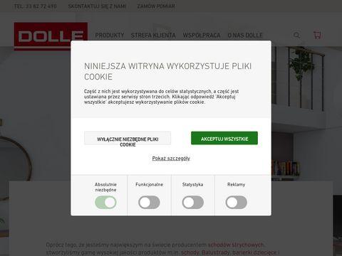 Dolle.com.pl nowoczesne schody drewniane