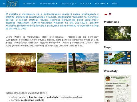 Dolinapsarki.pl pensjonaty dolina psarki
