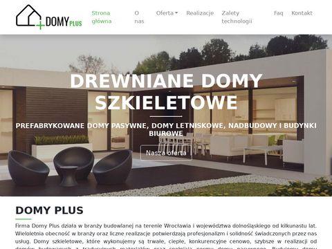 4E - domy pasywne z drewna Wrocław