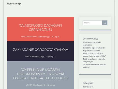 DomWawa.pl portal nieruchomości