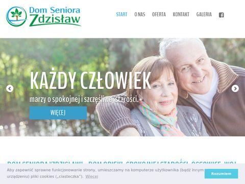Domseniorazdzislaw.pl spokojnej starości - łódzkie
