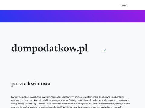 Dompodatkow.pl doradztwo podatkowe Warszawa