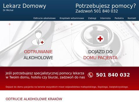 Domowy-lekarz.pl odtrucie alkoholowe Kraków
