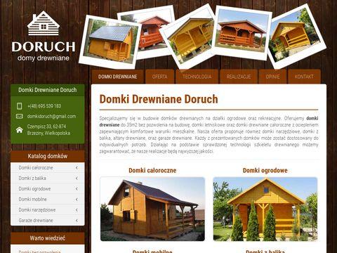 Domkidoruch.pl drewniane