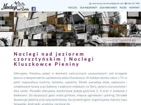 Domkikluszkowce.pl noclegi