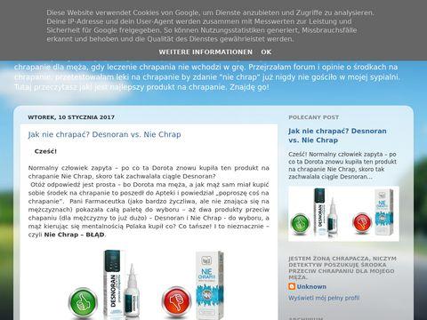Dorotysposobynachrapanie.blogspot.com