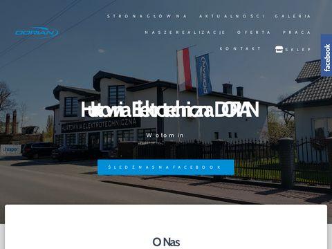 Dorian hurtownia elektryczna Wołomin