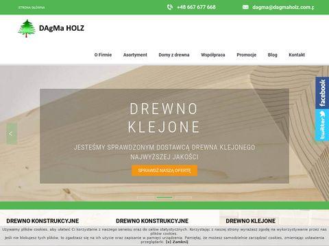 Dagmaholz.com.pl domy z drewna wykonawstwo
