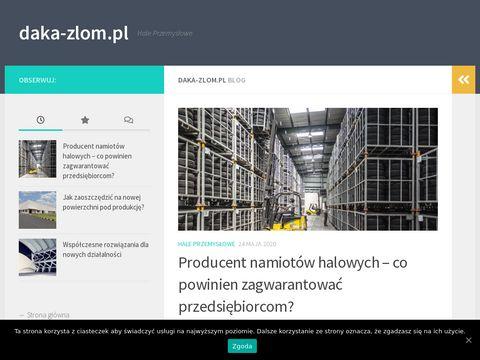 Daka - skup i sprzedaż złomu