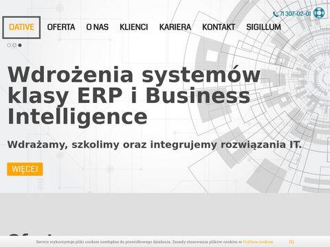 Dative.com.pl partner Comarch