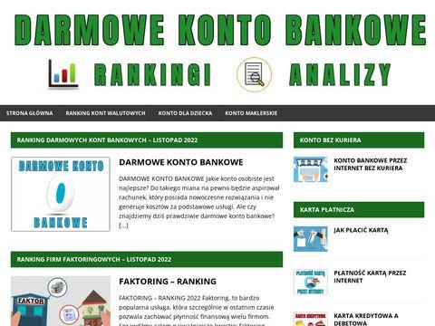 Darmowekontobankowe.org