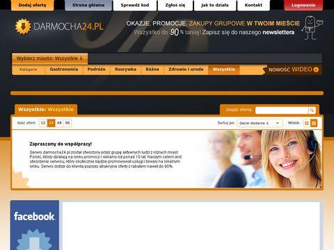 Darmocha24.pl zakupy grupowe