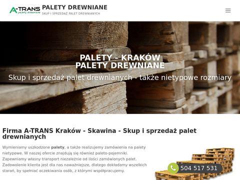 Dar-rom Kraków - producent palet drewnianych
