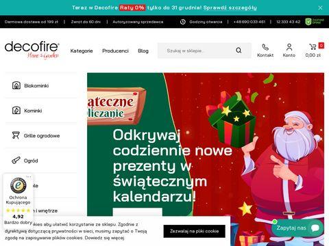 Decofire.pl biokominki
