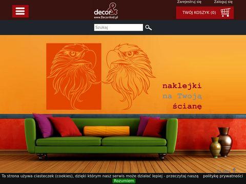 Naklejka na ścianę decorand.pl