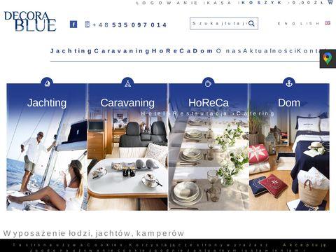 Decorablue.pl - wyposażenie jachtu