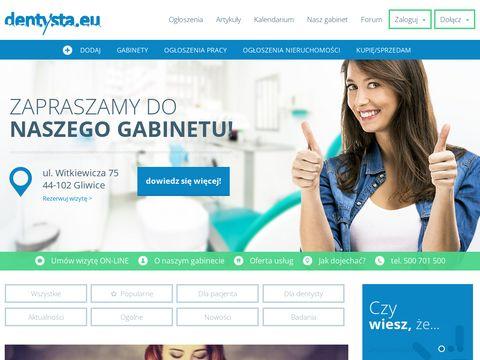 Dentysta.eu RTG zęba Gliwice