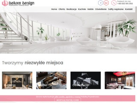 Deluxedesign.pl - projektowanie wnętrz