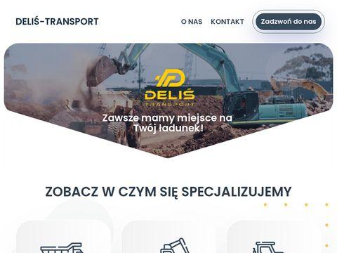 Delis-transport.pl materiałów