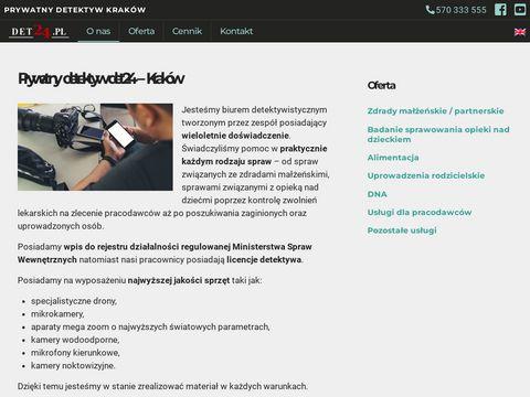 Det24.pl prywatny detektyw Kraków