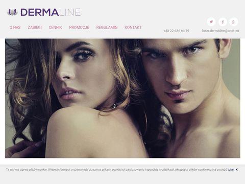 Derma-line- zabiegi kosmetyczne