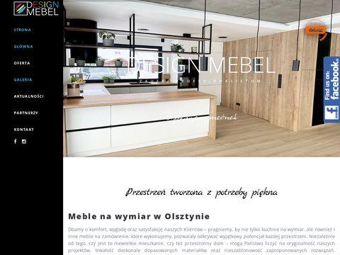 Designmebel Robert Sawko meble do łazienki Olsztyn