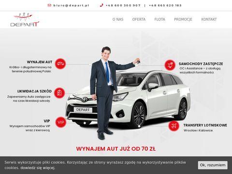 Wypożyczalnia samochodów depart.pl