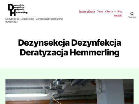 Hemmerling DDD zwalczanie mrówek
