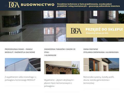 Dgabudownictwo.pl parapety z kamienia