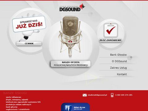 DGSound - produkcja reklam radiowych