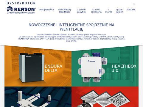Dystrybutor.rensonwentylacja.pl Prowent