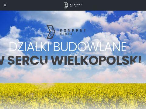 Grupa Konkret - działki budowlane pod Poznaniem