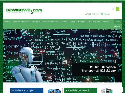 Dzwigowe.com - urządzenia dźwigowe