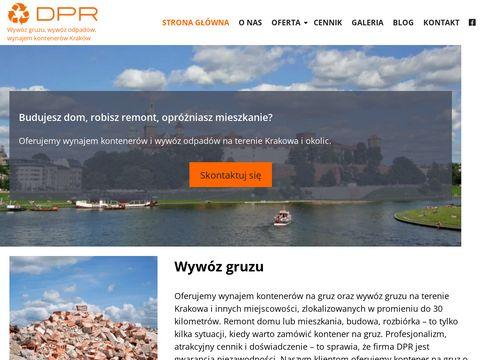 Dpr.info.pl - kontener na gruz - DPR
