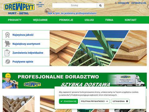 Drewplyt.com.pl skład drewna Grudziądz