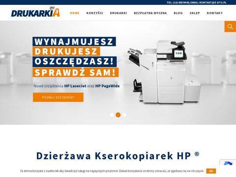 Drukarkia3.pl dzierżawa kserokopiarek
