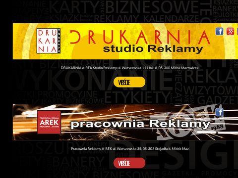 Drukarnia-minsk.pl reklama na samochód